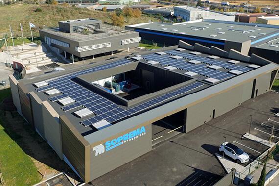 La nouvelle agence SOPREMA Entreprises de Montpellier