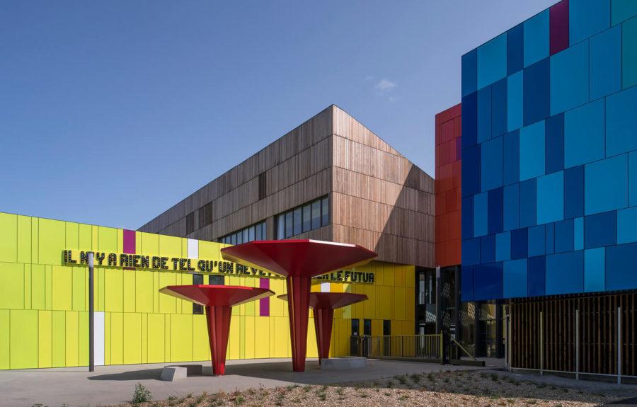 Reportage TF1 : le Lycée public de Carquefou