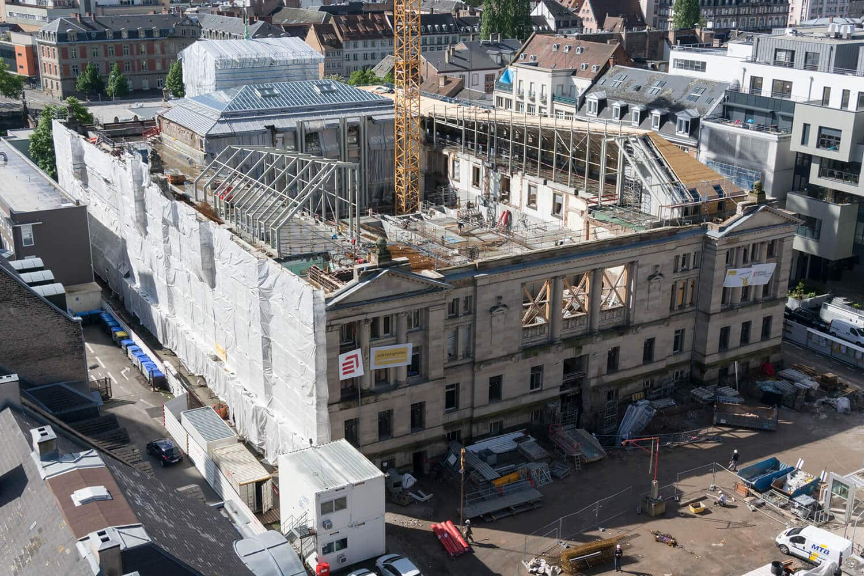 Palais de justice de strasbourg soprema entreprises - Soprema strasbourg ...