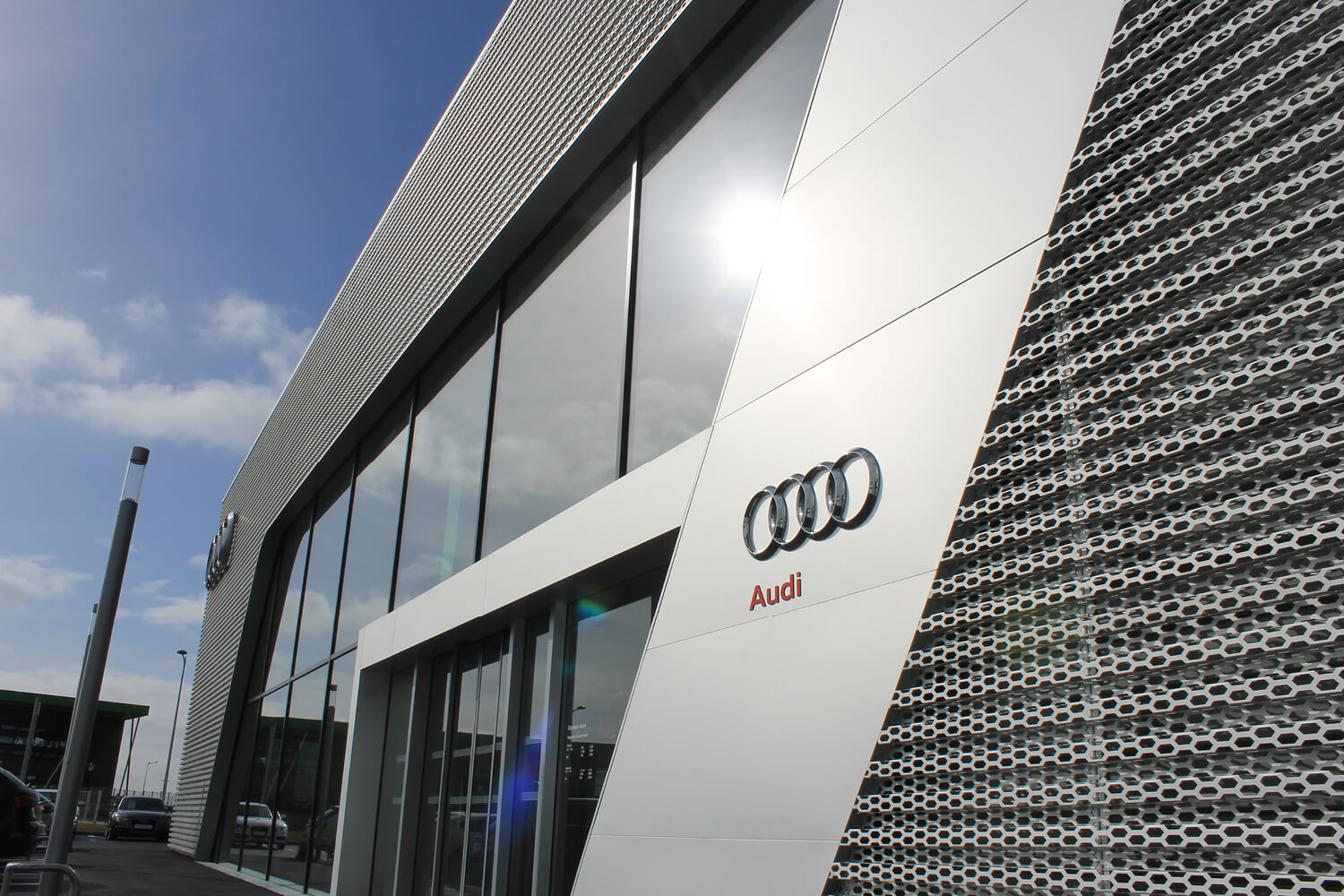 audi chartres olympic auto soprema entreprises. Black Bedroom Furniture Sets. Home Design Ideas