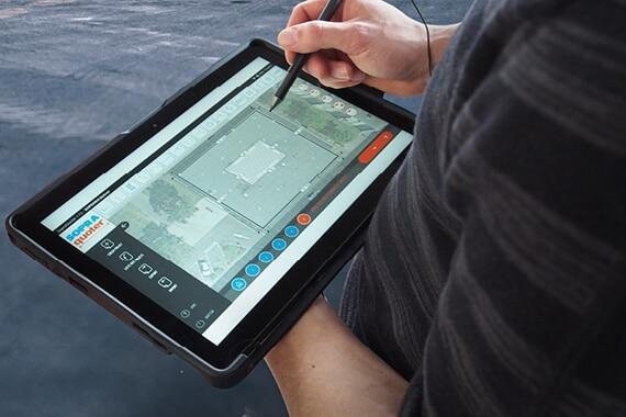 SOPRAQUOTER®, l'application dédiée aux métrés des toitures