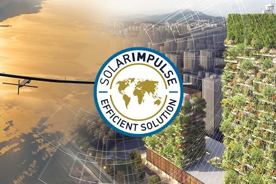 Un système SOPREMA Entreprises labellisé « Solar Impulse Efficient Solution »