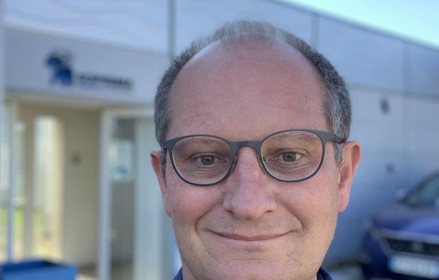Arnaud Bouilloux, Directeur de l'agence SOPREMA Entreprises de Dijon, présente sa recherche d'alternant