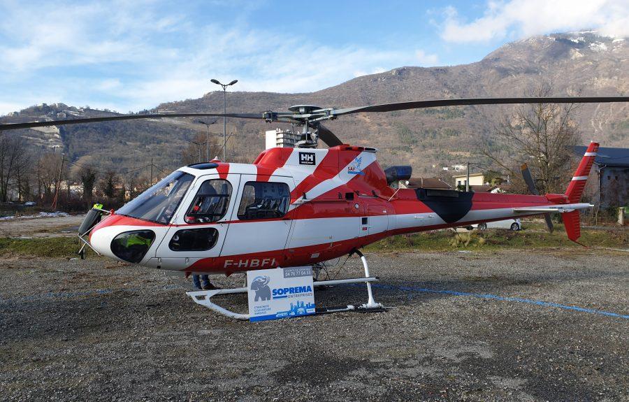 Insolite : approvisionnement par héliportage au CHU de Grenoble