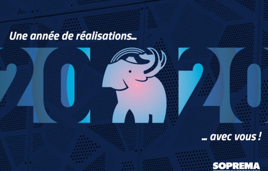 2020, une année de réalisations avec vous