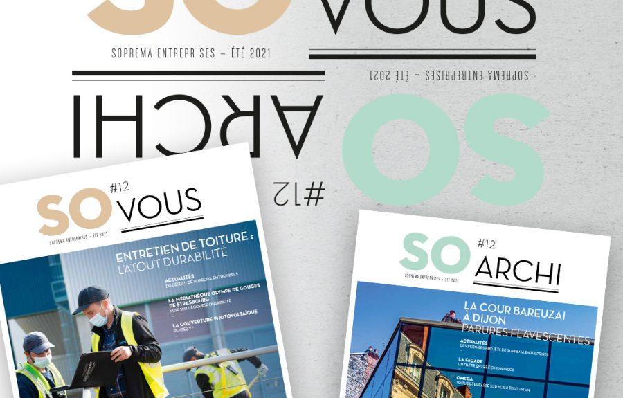 Le magazine SO Archi / SO Vous Été 2021 est sorti !